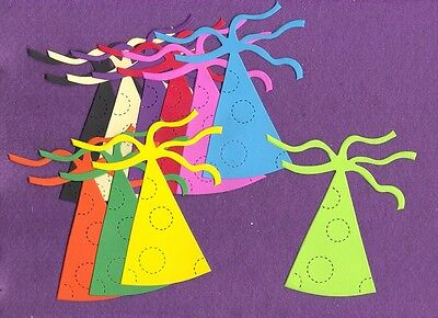 PARTY HAT die cuts scrapbook cards ()