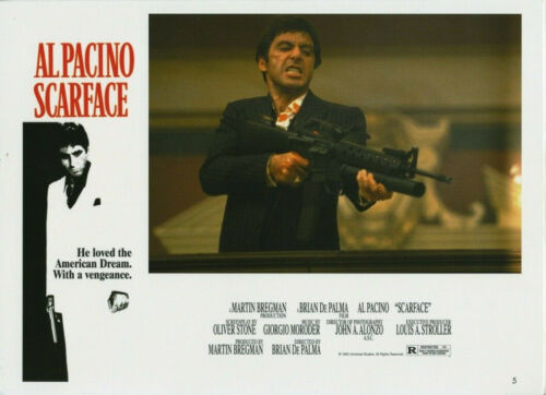 SCARFACE (1983) Original 8x11 Color Set - Al Pacino