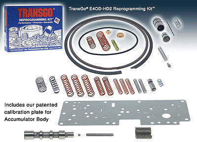Transgo Reprogramming Shift Kit Ford E40D / 4R100  E4OD HD2  (SKE4OD-HD2)*
