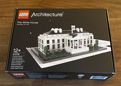 LEGO Architecture White House (21006) New Factory Sealed Retired