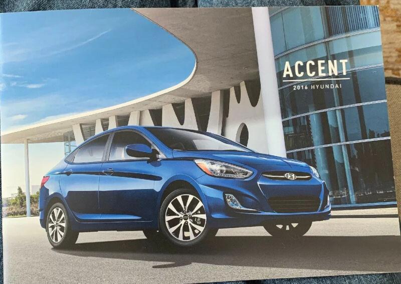 2016 Hyundai Accent Brochure