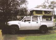 1991 Toyota Hilux 4WD with slide on Canopy Camper Elizabeth Playford Area Preview