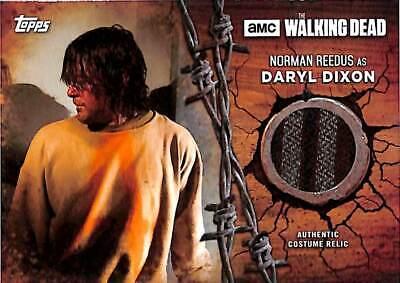 Topps Walking Dead Staffel 7 Kostüm Relic Norman Reedus Daryl Dixon Jacke - Daryl Dixon Kostüm
