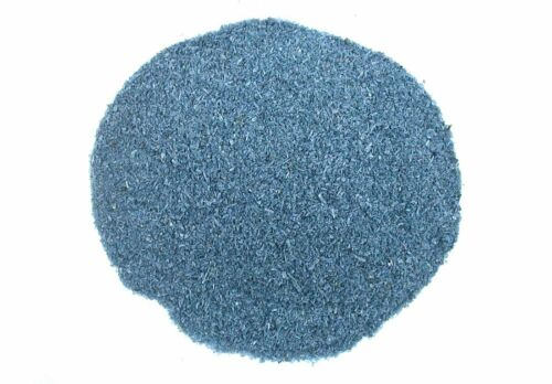 Half Pound Natural Dyed Blue Sapphire Color Kyanite Inlay Powder Wood Craft