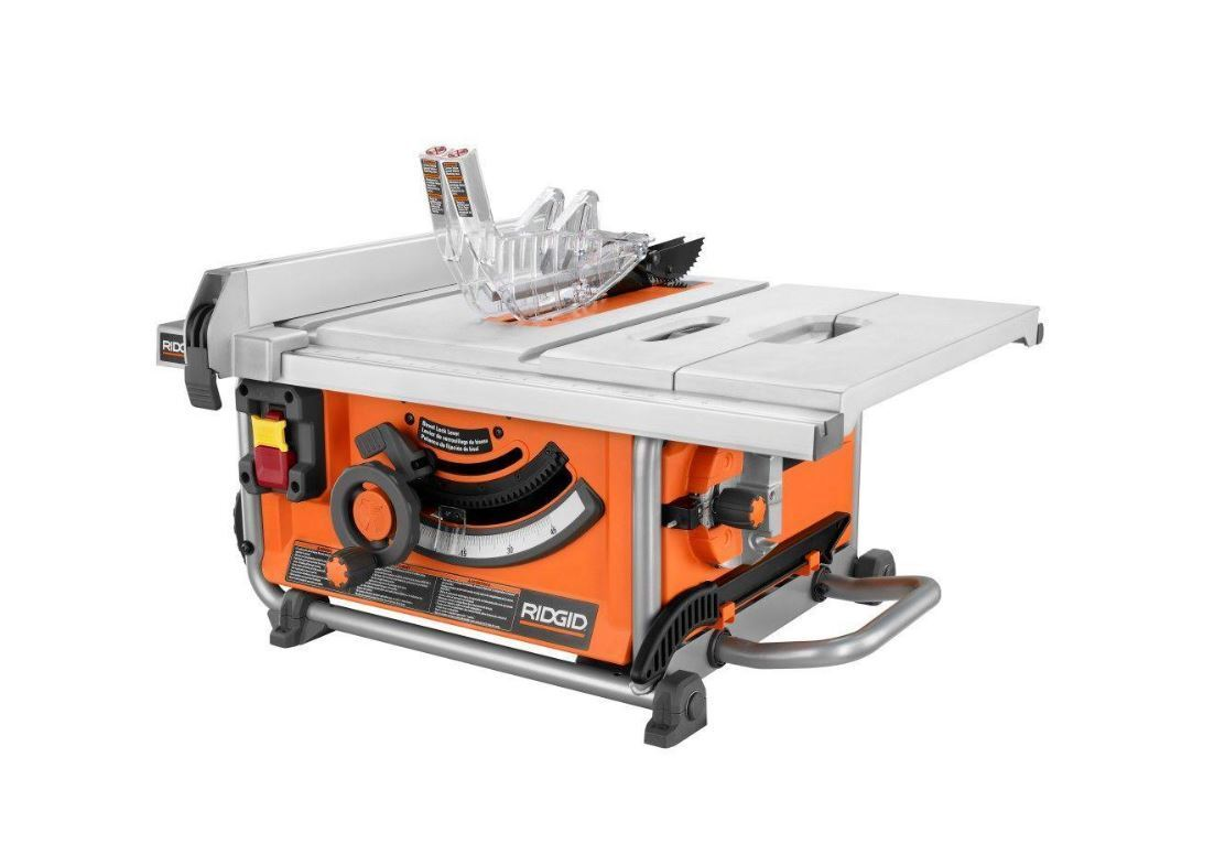 15 Amp 10 Quot Ridgid Table Saw Compact Heavy Duty Bench Blade