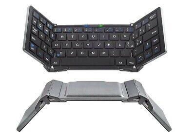 Bluetooth Foldable ITALIAN Keyboard LAYOUT Wireless Keyboards for iPhone iPad