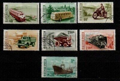 HUNGARY.   TRANSPORT  1955  USED