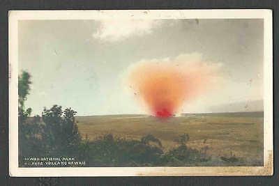 Ca 1901 PPC* HAWAII KILAUEA VOLCANO HAWAII NATL PARK UNUSED STAIN AT BOTTOM