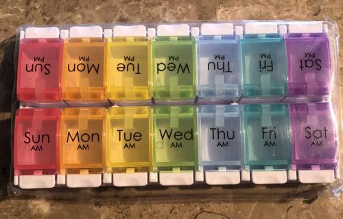 Pill Box 7 Day AM/PM