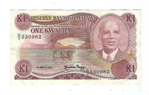 Kenya - 1 Kwacha, 1986