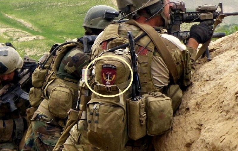 KANDAHAR WHACKER USMC MARSOC AFGHANISTAN NATIONAL ARMY ANA SSI: COMMANDO + TAB