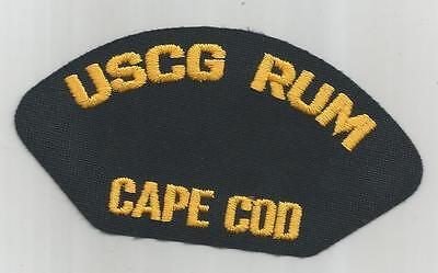 USCG RUM  CAPE COD PATCH
