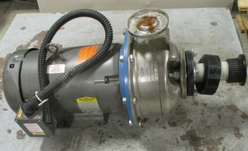 Goulds G&L Pumps SSH 11SHK1 1x2-10 11SH51635 Pump w/ Baldor 15 HP Motor