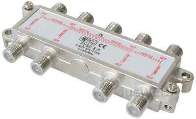 8-fach SAT Verteiler Splitter 5-2500MHz digital Kabel TV DVB-T HDTV UKW