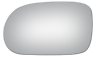 96-04 ACURA RL DRIVER SIDE VIEW MIRROR GLASS NEW FLAT #1247