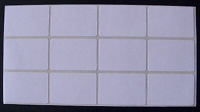 100 All Purpose Removable Adhesive Price Labels Tags Stickers Square 1x 1