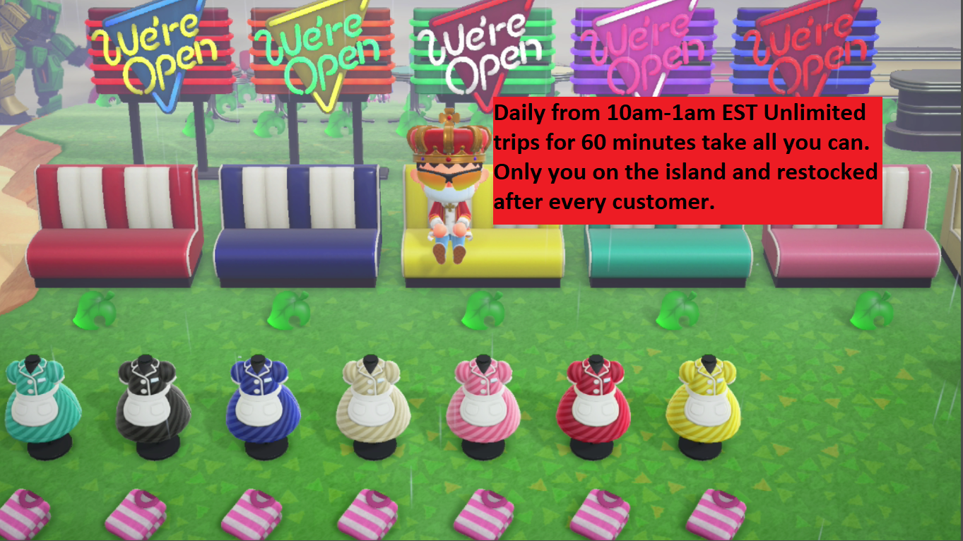 Animal Crossing New Horizons Treasure Island UNLIMITED trips 60min AVAILABLE NOW For Sale - 1