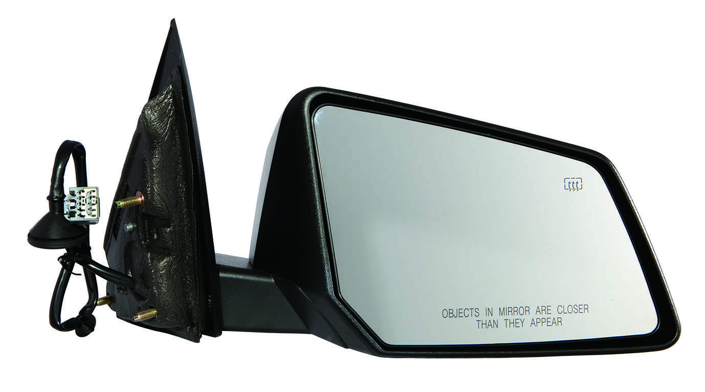 25896083 GM1321401 New Mirror Passenger Right Side Heated Power Textured Black