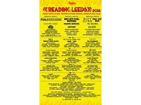 Reading Festival weekend tickets