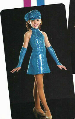 Group Of 6 Costumes ( GROUP LOT of 6 Child S ~ Tap Dance Costume with MITTS & HAT Go Go RAZZLE)