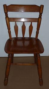 replica Cushman Colonial Chair .. Sturdy, Clean, Smoke Free ..
