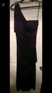 Elegant Deep Purple Dress