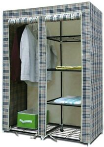 Folding Almirah Wardrobe Cupboard III Best Quality with warranty available at Ebay for Rs.1859.6600341797