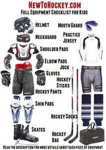 Hockey Equipment Blowout