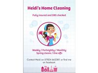 Domestic cleaner - Heidi's home cleaning