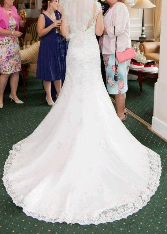 Beautiful wedding dress for sale | in Barnstaple, Devon | Gumtree