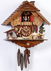 30-Hr Musical Cuckoo Clock Angry Mother In-Law Rolling Pin Schneider MT 698/9