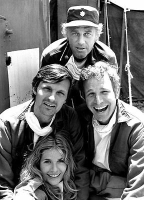 MASH Cast Publicity PHOTO 1972 Loretta Swit Alan ALda Wayne Rogers TV Show