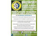 Sunday League Football Players