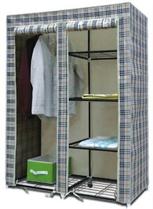 Folding Wardrobe Cupboard Almirah III1 Best Quality available at Ebay for Rs.1892