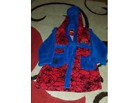 Boys Spiderman Dressing Gown