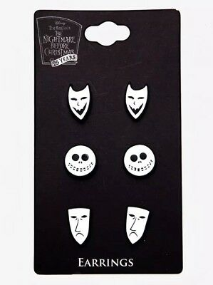 Disney The Nightmare Before Christmas Oogie's Boys Earrings Set New With Tags!