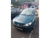 Peugeot 206 automatic!!! low milage!!!!