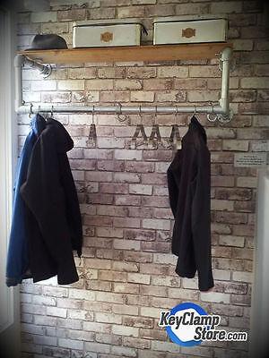 Coat and storage unit.
