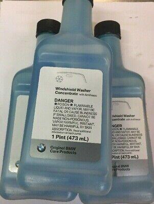 3 BMW Windshield Washer fluid Concentrate Antifreeze 83192221702 oem mini (Bmw Washer Fluid)