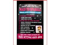 Maid to Sparkle Cleaning Company