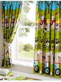 Farmyard curtains