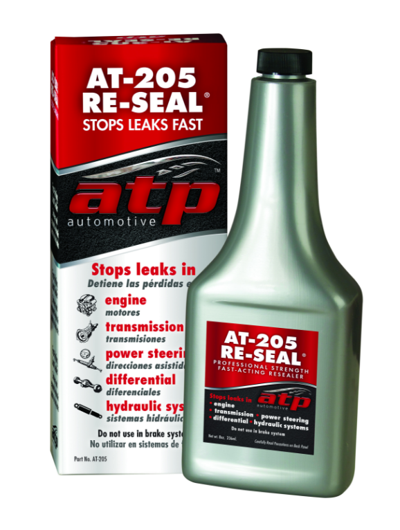 ATP AT205 Re-Seal Additive 8 oz. Engine Transmission Differential Use