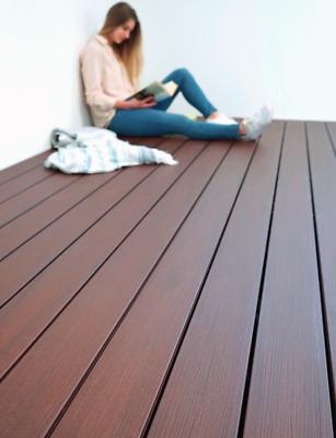 65m² WPC Massiv GERMANY 5m Komplettset Terrassendielen Holz Komplettbausatz