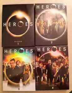 Heroes Complete Series Seasons 1-4 DVD *MINT* *$40*