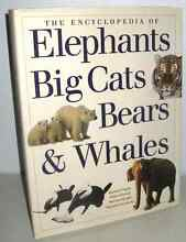 Encyclopedia of Elephants, Big Cats, Bears & Whales Westmead Parramatta Area Preview