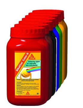 Sika Bouw Sikacim color s 800 gr, rood, pot
