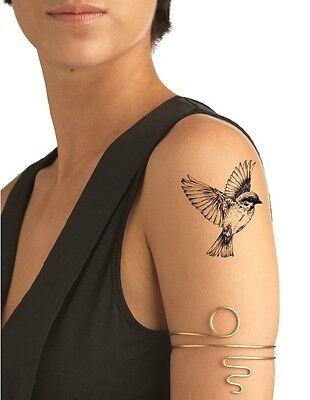 SHIP FROM NY - Temporary Tattoo - Bird