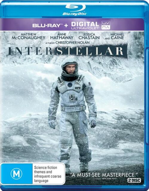 Interstellar : NEW Blu-Ray