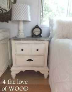 Two Farmhouse Nightstands