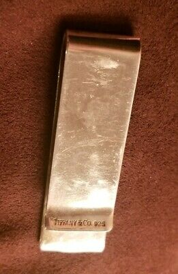 Tiffany & Co. Sterling Silver 1837 Money Clip 925 T & Co **HAS DAMAGE - (Tiffany & Co Price)